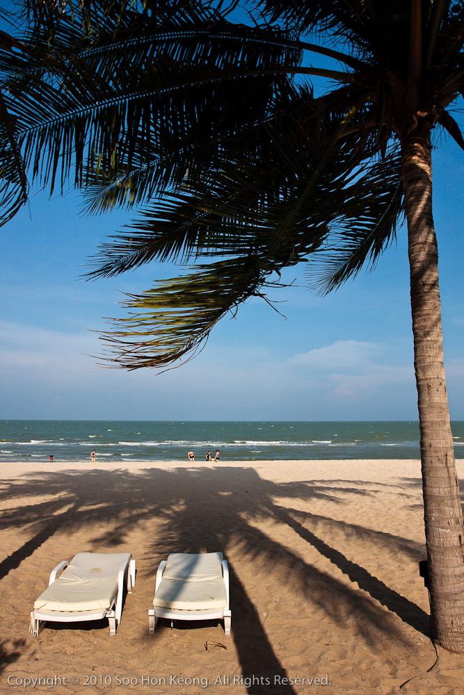 Hua Hin Beach @ Thailand