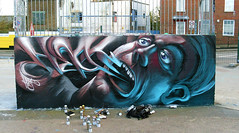 Heat Rucka (Fat Heat .hu) Tags: face graffiti character spray 94 skate heat cans cfs fatheat 3dgraffity