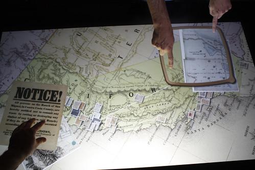 California Land Grab Multitouch Exhibit