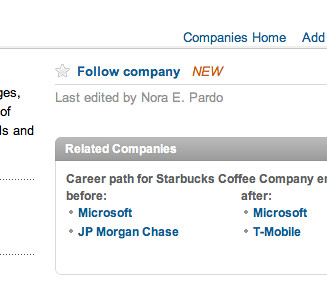 Linkedin adds 'follow' feature to company profiles