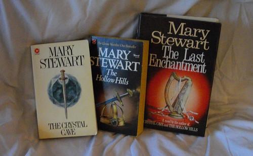 Mary Stewart's Arthurian Trilogy