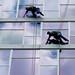 Synchronized Stuntmen! by vivagirlco