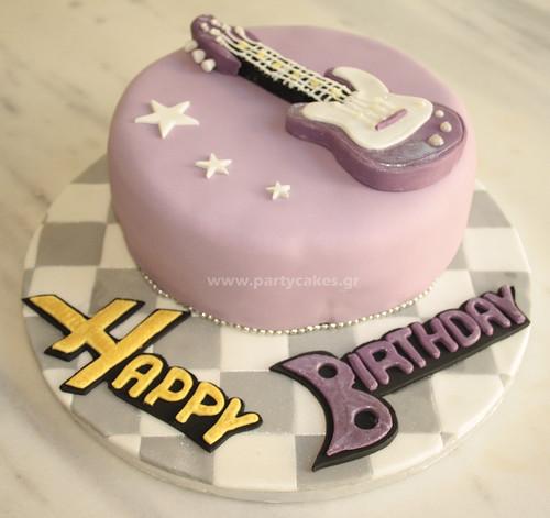 Hannah Montana themed cake