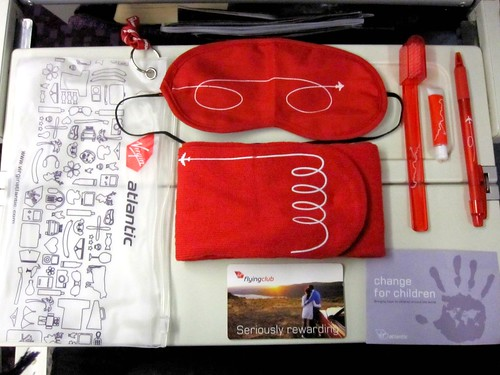 Virgin Airlines Amenities Pack