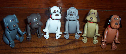 Pound Puppies poseables 2