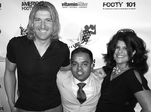 Miro Gladovic is the Creator and Producer of American Footy Star , Amit Handa, Yvette Morales