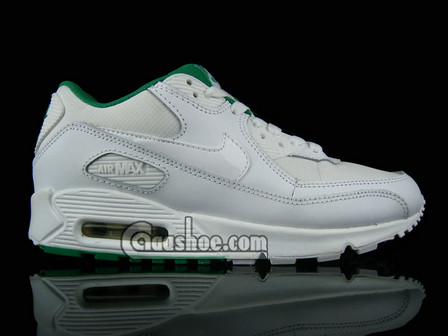Nike Air Max 90 Womens White Ice Blue Midnight Navy