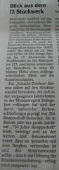 WAZ Bochum (Kultur): Blick aus dem 17. Stockwerk