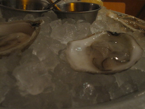 Island Creek oysters (MA) at The Slanted Door