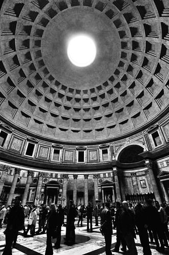 People under the dome...