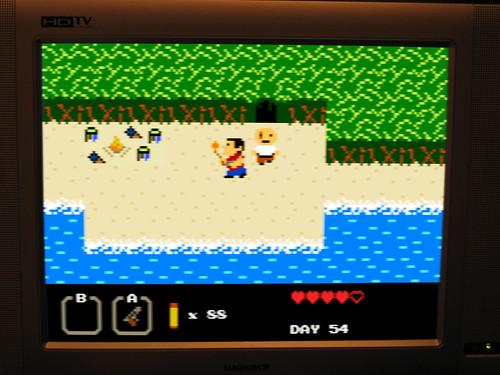 El auténtico videojuego de Perdidos… para la NES