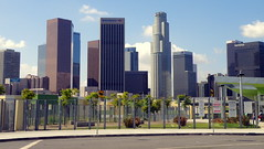 LA Skyline from Vista Hermosa Park (Mark Luethi) Tags: laskyline vistahermosapark