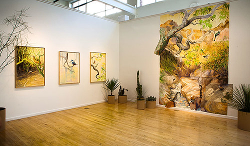 "Installation Shots from David Tomb's ""Borderland Birds / Aves Fronterizas"""