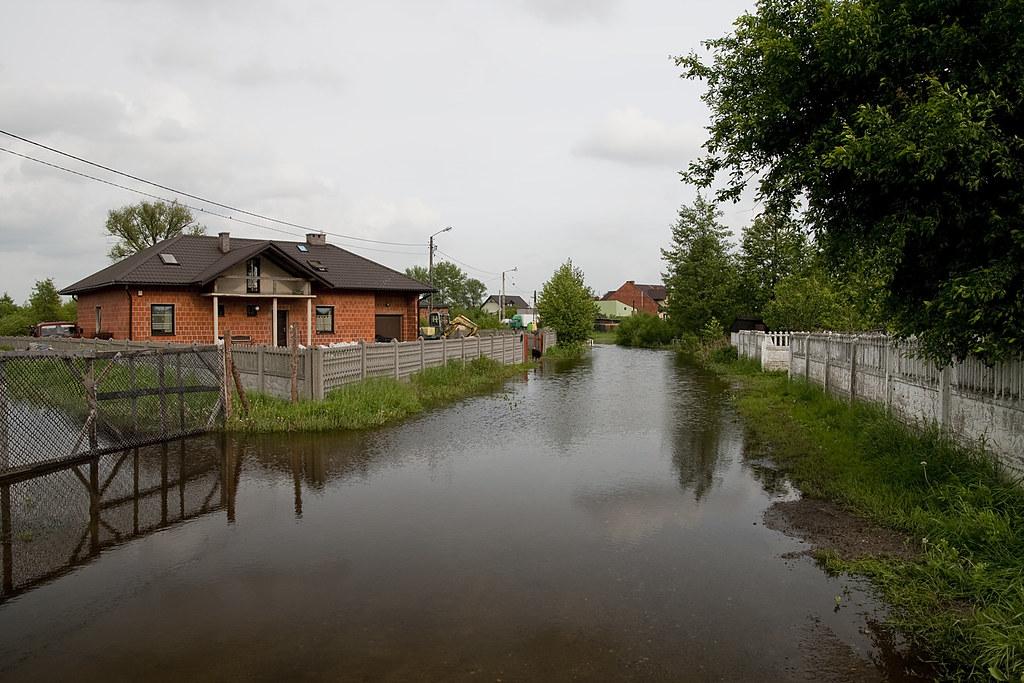 Powódz w Kaliszu 2010