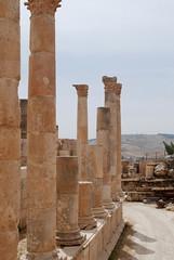 Temple of Zeus - Decapolis City of Gerasa - Jerash, Jordan (jrozwado) Tags: temple ruins asia pillar jordan zeus column jerash decapolis gerasa