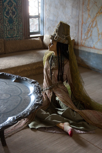 The Ottoman Princess, the Harem, Topkapi Palace