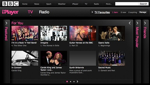 iPlayer favourites