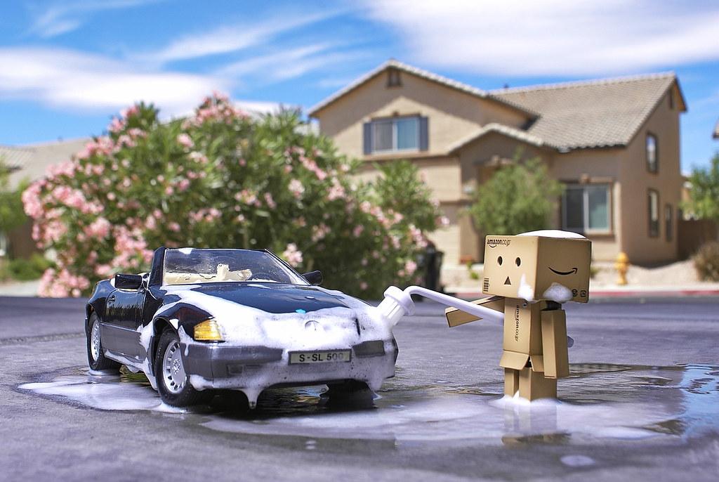 Danbo kocsit mos