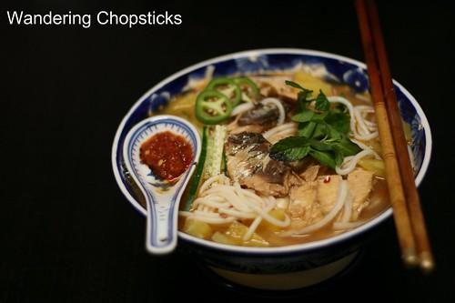 Penang Asam Laksa (Malaysian Penang-Style Tamarind and Fish Soup) 1