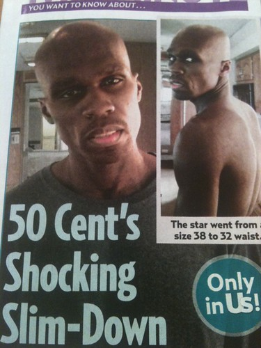 "... and deathly looking photos of 50 Cent's ""shocking"" weight loss"