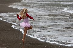 From 32 Cute Little Girl in Pink Dances photos...
