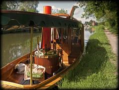Little Steamboat (strussler) Tags: england canon river canal bravo surrey powershot steamboat guildford navigation waterway wey g9 stokelock dontforgetneda