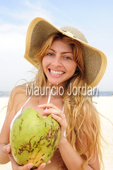 thirsty blond woman drinking coconut water on the beach (mauricio jordan) Tags: travel summer vacation portrait sky people sexy beach water girl beautiful beauty fruit female fun outside person one healthy model women day slim adult natural drink coconut outdoor happiness fresh resort delicious exotic coco bikini blond enjoy attractive tropical leisure aged middle thirst pleasure thirsty 30s nutrition caucasian