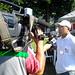 Sadao Nakai, vice-presidente da AJS, dá entrevista à TV Tribuna (afiliada Rede Globo)