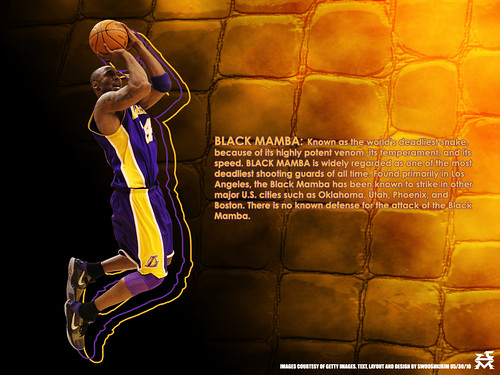 kobe bryant black mamba wallpaper. The Black Mamba. Kobe Bryant