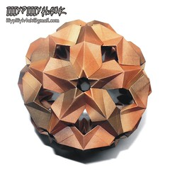 Stellar Crystal folded by iiiypiiiyh4uk