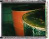 Polaroid Colorpack II / Blue Dot (Michael Raso - Film Photography Podcast) Tags: polaroid butler chemical newjerseyusa fujifilmfp100c polaroidcolorpackii butlercenter butlernewjersey chemicaldrums