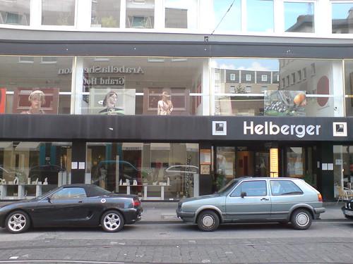 Möbelhaus Helberger als Ausstellungsort. Juli 2007