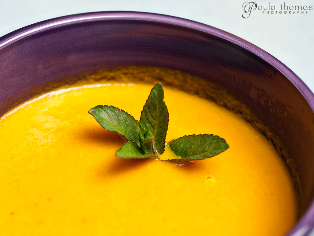 Unami Carrot Soup with Mint