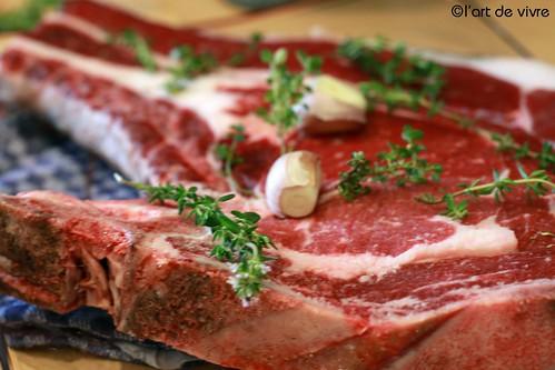 Bazadaise T-Bone Steak
