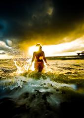 Stormy Sunrise (eyecbeauty) Tags: ocean beach sunrise surf stormy 1001nights 1001nightsmagiccity mygearandmepremium favtop2049