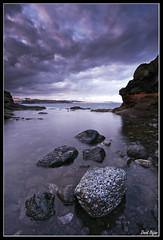 Telde de tormenta (David Bjar) Tags: david grancanaria mar cielo nubes tormenta olas piedras laspalmas bjar charco telde guararire