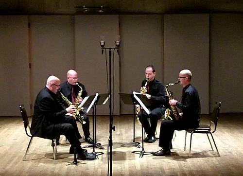 "Saxophone Quartet ""Dress"" rehearsal"