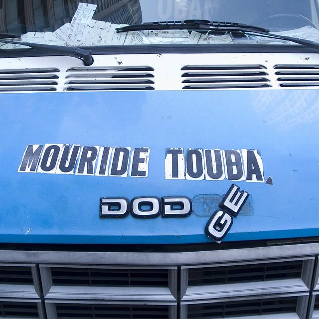 More van type: Mouride Touba #walkingtoworktoday