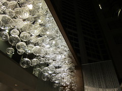 "Suspended ""glass bubbles"""