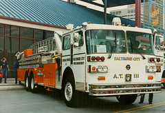 sutphen baltimorefiredepartment cityofbaltimore sutphenaerialtower truck111