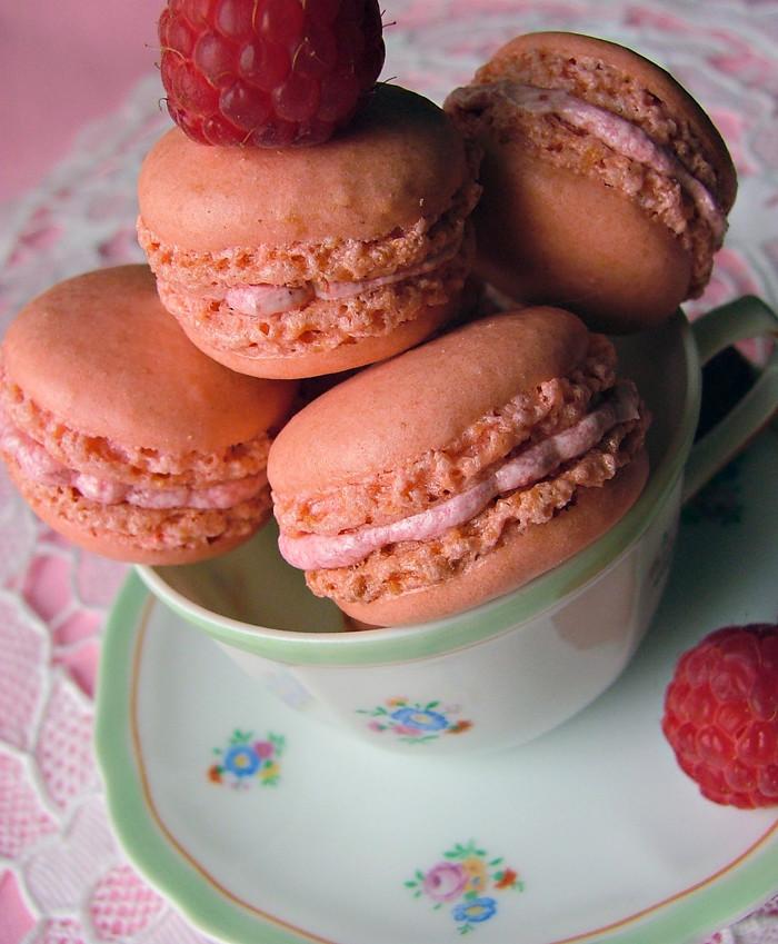 macarons framboesa 1