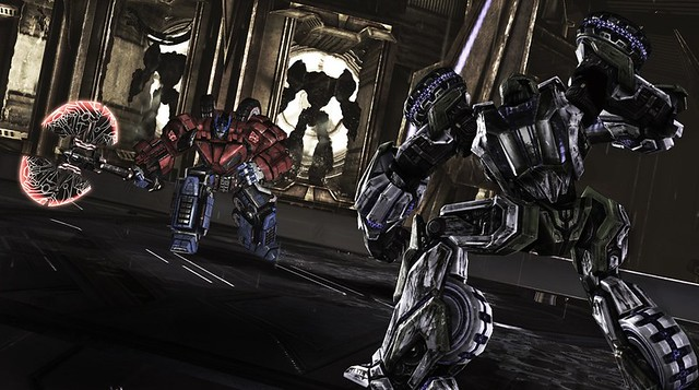 Screenshot Transformers War for Cybertron Optimus Prime Megatron