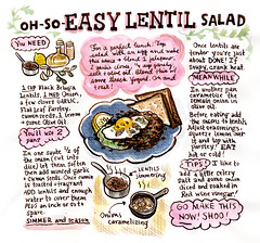 Let's Make Lentil Salad!