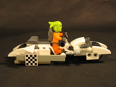 Bike 001 (ka.lego) Tags: anime bike lego manga scifi motorcycle akira speeder moc speederbike