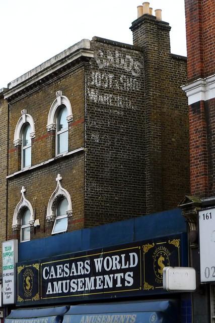 england london acton ghostsigns w3 dadds londonboroughofealing daddsbootandshoewarehouse daddsbootshoewarehouse caesarsworldamusements