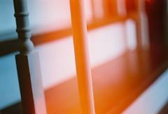 (Nikki Palpal-latoc) Tags: sun film stairs kodak flare railing posts nikkormatelw 50mmf12 nikkormatelw50mmf12