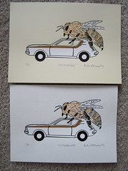 4,704,280mpg 1,2 (amckimmey) Tags: art print screenprint silkscreen blockprint lino bookart
