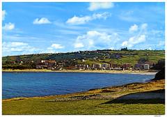 Suances-Playa de La Concha, aos 70 (Yermass) Tags: espaa landscape spain playa paisaje postal cantabria laconcha escaneada suances fotosantiguas ernestofalkenthal