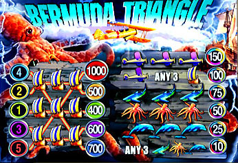 free Bermuda Triangle slot mini symbol
