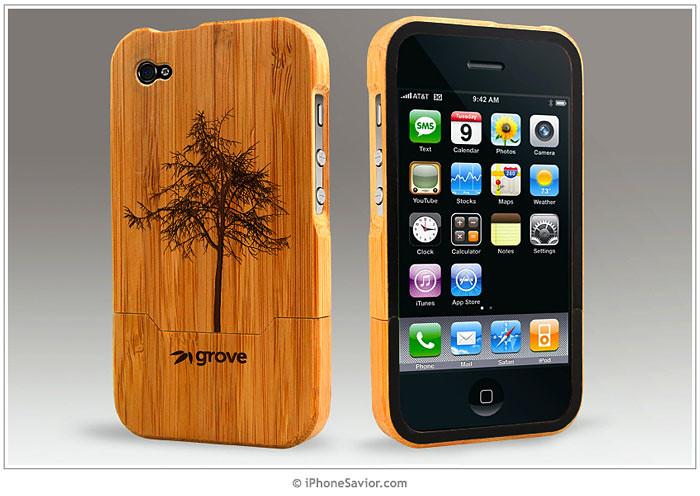 GroveMade iPhone 4 Bamboo Case